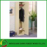 Único quarto da mobília do projeto do Wardrobe da melamina da porta