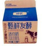 200ml gegorener Milch-dreieckiger Karton