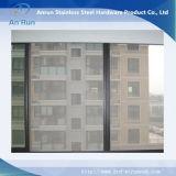 Investigación a prueba de balas/antirrobo del acero inoxidable de la ventana