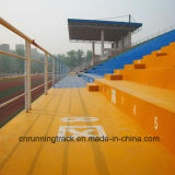 Pavimentazione durevole ed antisudicio di colore Cn-C04 di svago di zona