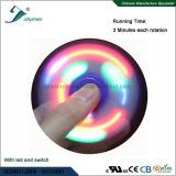 3개의 색깔 큰천막이 파란에 있는 LED 빛을%s 가진 최고 최신 판매 싱숭생숭함 방적공에 의하여, 빨간, 녹색이 된다