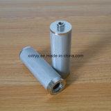 304/316 de filtro de engranzamento aglomerado do aço inoxidável com porca