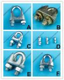 Оснащая морское оборудование Galv тип томительноая-тягуч струбцина провода