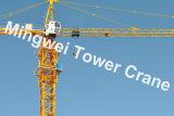構築Qtz80 (TC5513最大)のためのタワークレーン-。 ロード: 8tons/Tipロード: 1.3t/Boom: 55m