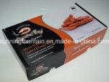Caixa de papel ondulada com projeto personalizado da dobradura