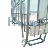 Gaiola de dobramento do engranzamento de fio do metal dobrável para o armazenamento