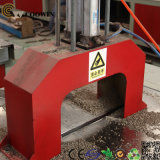 Perfil plástico de madeira do PE do PVC PP que faz a máquina