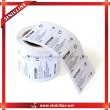 Упаковывая стикер Barcode для Cosmetics или Underwears, Bath Appliance