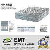 Matelas confortable de lit de chambre à coucher d'hôtel (EMT-MTD2)
