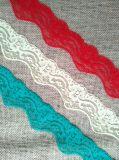 Farben-Blumen-Spitze der Form-5cm elastische mehrfache für Dress der Dame