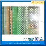 ISO&Ce China Oberseite-Fertigungsilkscreen-Drucken-Glas (emailliertes Glas)