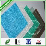 Strato del policarbonato impresso diamante di plastica caldo dello strato di Lexan di vendita