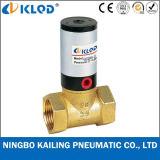 Valvola di pistone pneumatica materiale d'ottone tipo pistone di modo Q22HD-40 2/2