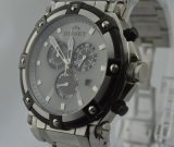 Cronógrafo do relógio dos esportes do aço inoxidável (084)