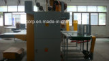 Rebitador ondulado semiautomático servo dobro da caixa