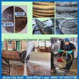 Промышленная водяная помпа плунжера давления шайбы 14500psi чистки трубы высокая