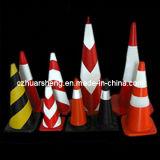 反射安全通りの警告の駐車円錐形のための交通標識