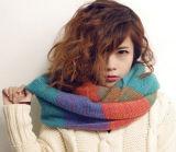 Шарф грелок шеи петель женщин шарфа нового Spandex типа способа Multi-Color корейского красивейшего материальный симпатичный