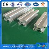 Profilo di alluminio dell'espulsione dei materiali da costruzione di Customed della finestra flessibile di colore