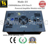 De lichtgewicht D3 Drie Module van de Spreker van Kanalen DSP Digitale Actieve