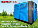 Proteção Ambiental e Compressor de Ar de Parafuso de Poupança de Energia