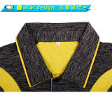 Men를 위한 최신 New Design Colorful Knit Polo Collar Shirt