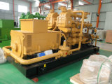 Central eléctrica de la electricidad para el conjunto de generador del biogás del terraplén de la basura municipal 500kw