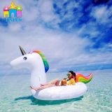 Galleggiante gonfiabile del raggruppamento dell'unicorno del cigno di estate del galleggiante caldo dell'acqua