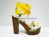Оптовая сандалия женщин высокой пятки блока способа