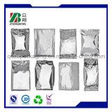 Resealable銀製のジッパーロックのアルミホイル袋