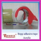BOPP Acrylice anhaftendes Gummi-Verpackungs-Verschiffen-Band