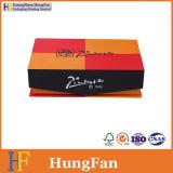 Rectángulo de papel de empaquetado del regalo del embalaje de la cartulina