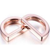 Nuovo anello del sacchetto del metallo degli accessori della borsa di disegno di modo