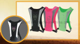 Chaleco de corrida reflexivo Lycra Sport para segurança de ciclismo