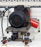Halbautomatische Holzbearbeitung-Rand-Banderoliermaschine mit Kurbelgehäuse-Belüftung