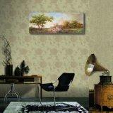 顕著な木の装飾の絵画