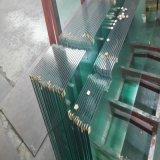 verre trempé clair en verre Tempered de 10mm pour la porte de construction