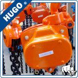 Vente en gros élévateur de blocs de poulie à chaînes de 1 tonne