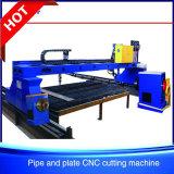 SGSのガントリー鋼鉄金属板および管CNC血しょうかフレーム切断機械KrXgb