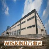 Entrepôt structural léger rentable de construction préfabriquée de bâti