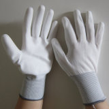 Gant électrique de travail de sûreté de main de gants blancs d'unité centrale