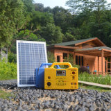 jogo Home solar solar da iluminação do sistema 1W da alimentação de DC 5W