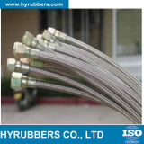 Boyau flexible de pétrole hydraulique de la qualité PTFE
