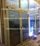 350 Leute weißes Exhibtion Zelt mit Glastür für Mietkabinendach
