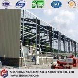 Oficina pré-fabricada da construção de aço para processos industriais