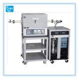 el sistema del horno de tubo del CVD 1600c para la deposición del carbón y el metal oxidan