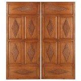 De BuitenDeur van het hout/de Houten Deur van de Luxe van de Villa met Hoogste Kwaliteit