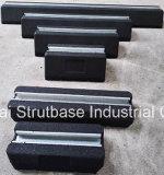 Bloco de borracha / bloco de telhado de borracha C / W 41X21 Channel Steel