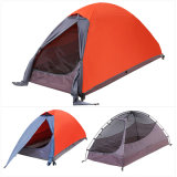 1人の屋外のキャンプのハイキングのBackpackingテント