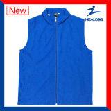 Desgaste de la chaqueta de Hoodie de la juventud del color del espacio en blanco de la venta al por mayor de la calidad de Higt